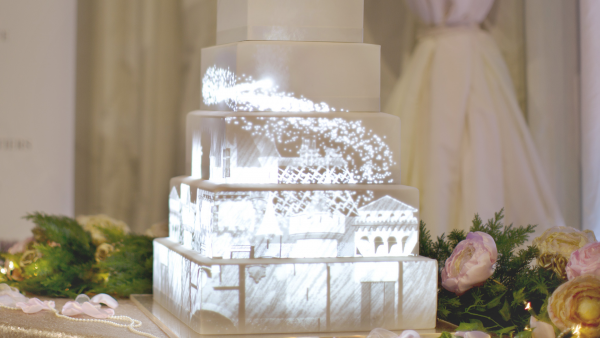 Product ID 807: Fairytale Journey projection cake mapping video content preview of a Disney castle