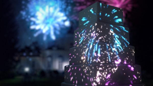ID: 899 Fireworks Display Pack preview image of fireworks cake mapping